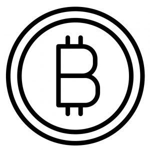 how to spot a fake website; bitcoin logo
