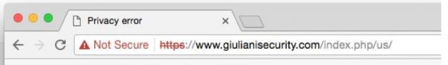 Rudy Giuliani, cyber security
