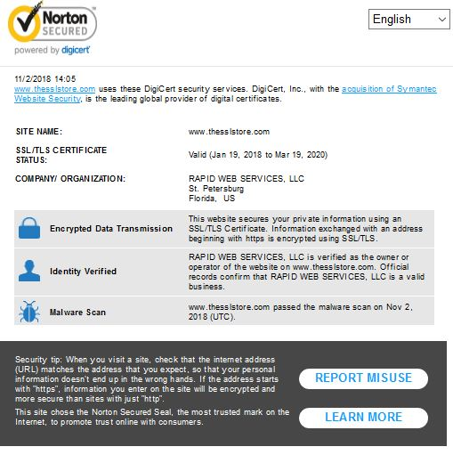 site seal, the ssl store, determine if a website is fake