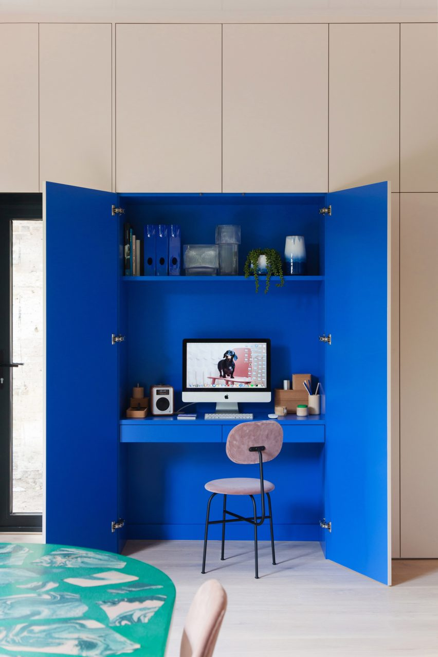Interiors of 2LG Studio's Design House