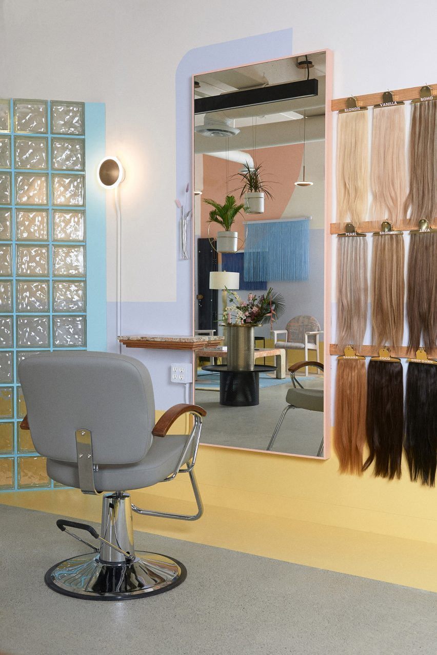 Qali hair salon by Studio Roslyn