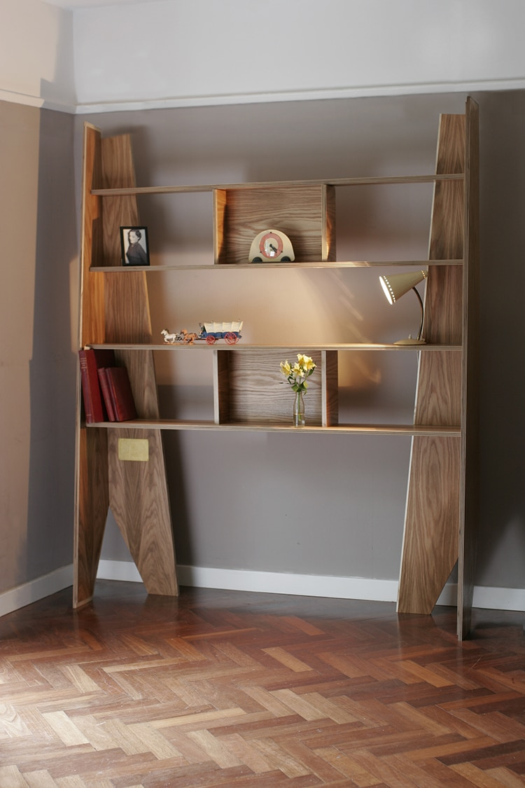 Bookshelf that Transforms into a Coffin by William Warren