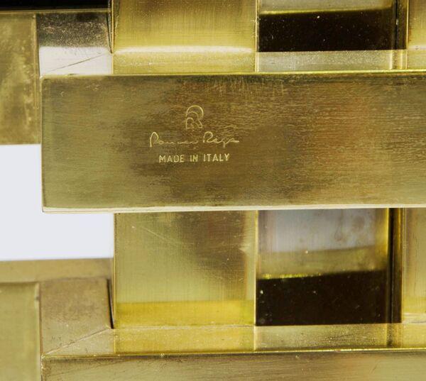 Correct marks to a 1970s bookcase by Romeo Rega, lestroisgarcons.com