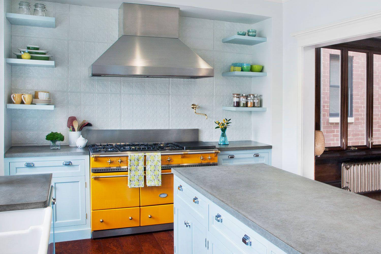 yellow-kitchens