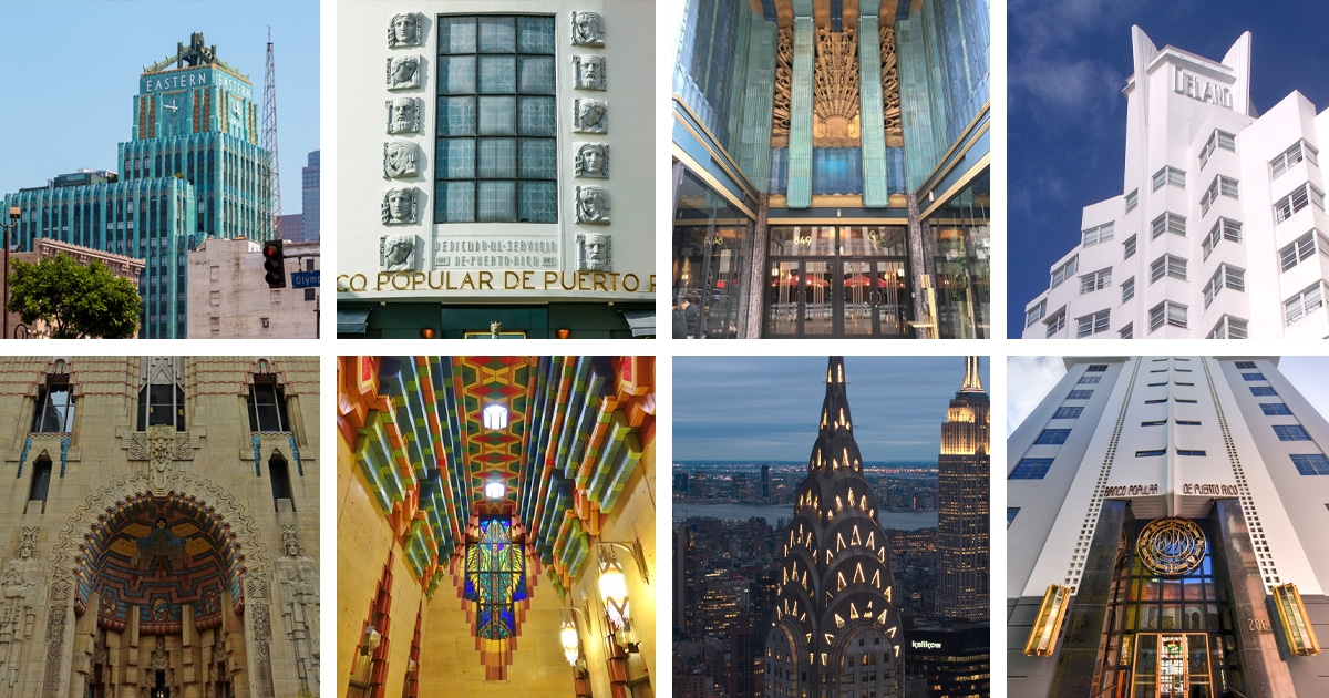 5 Incredible Buildings That Embody the Vintage Glamour of Art Deco Architecture