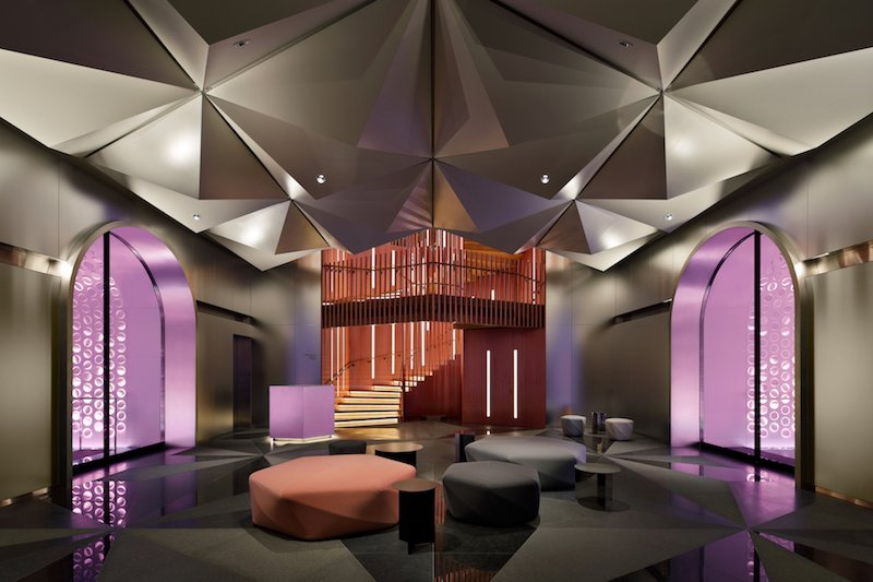 concrete is proud to present the interior of w osaka celebrating the true spirit of the city 5