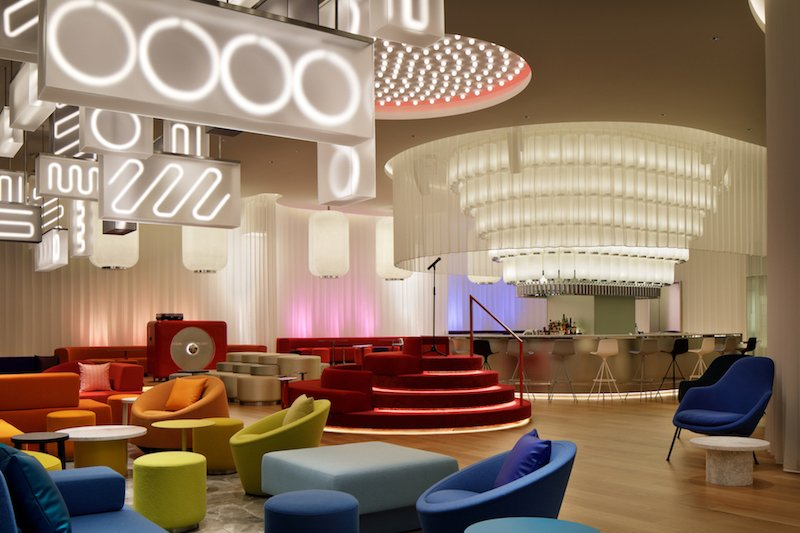concrete is proud to present the interior of w osaka celebrating the true spirit of the city 1