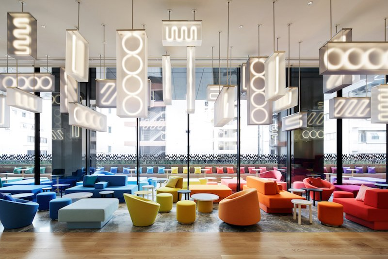 concrete is proud to present the interior of w osaka celebrating the true spirit of the city 2