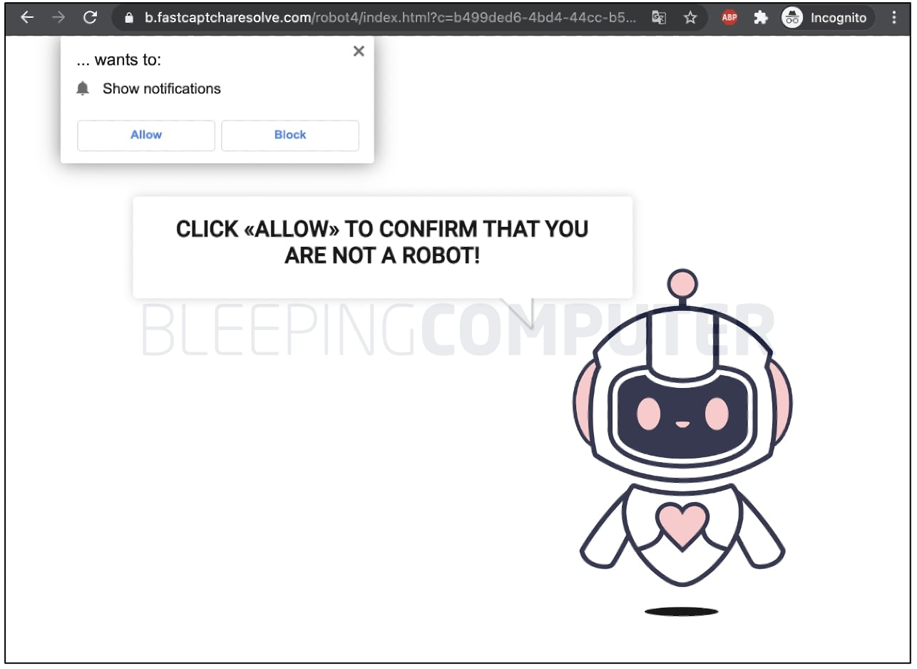 malicious URL redirects further
