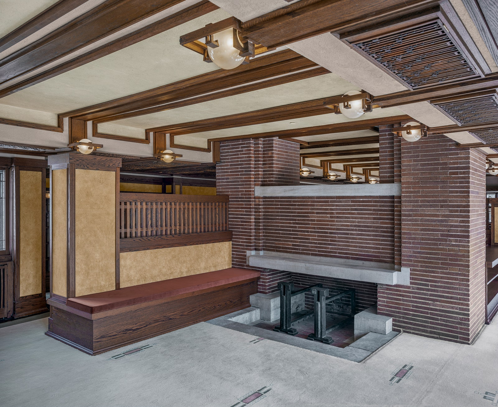 Image may contain Wood Housing Building Furniture Indoors and Interior Design