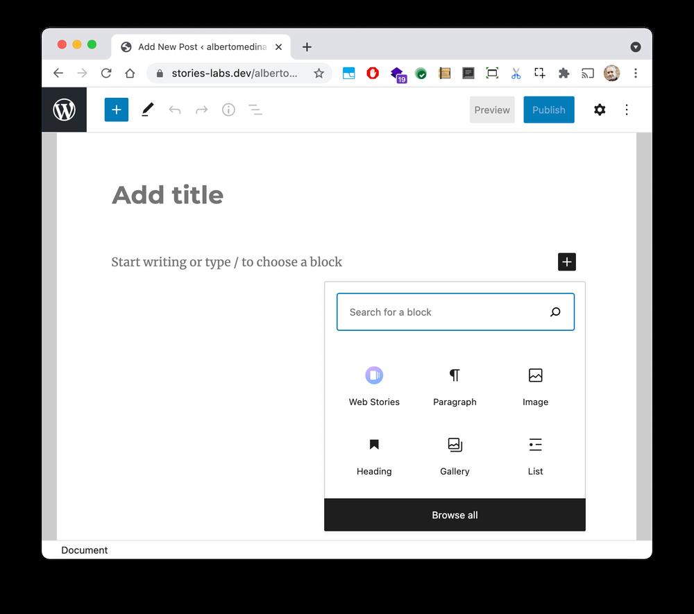 Google Web Stories WordPress Plugin Updated With Embedding Capabilities