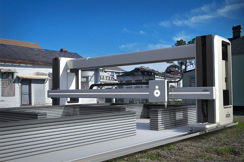 ICON's 3D printer for homes wins international design award designboom