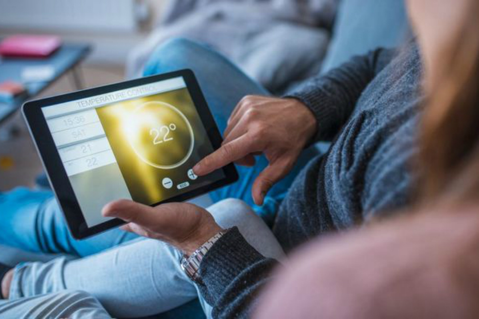 Picture of smart energy use at home. (Credit: AzmanL/iStock).