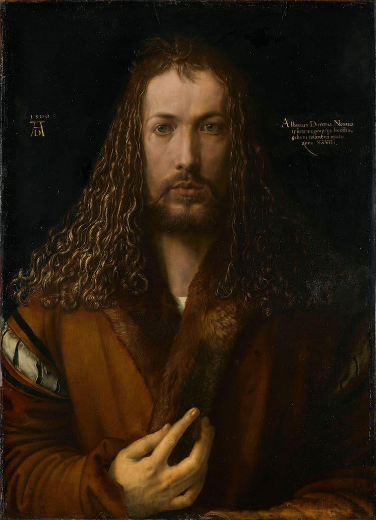 Albrecht Durer Self-Portrait Painting