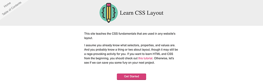 learn css screenshot
