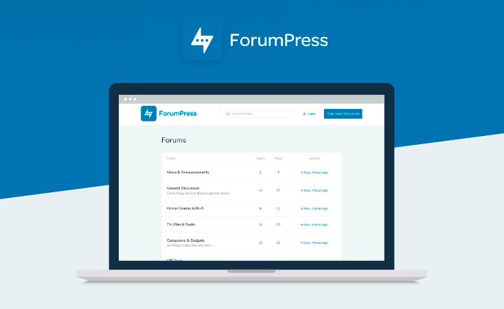 27. WordPress Forum Theme