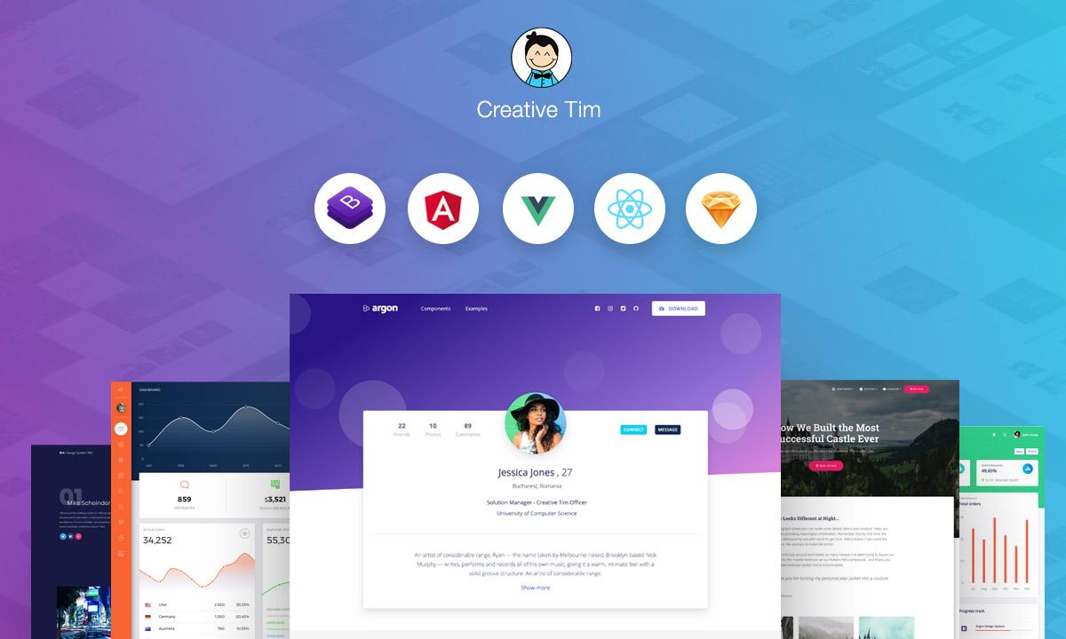 1. Creative Tim