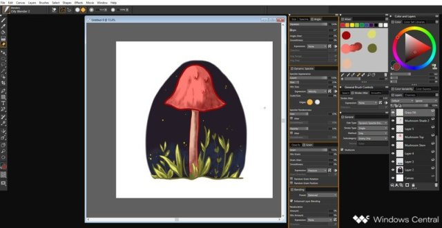 Painted Illustration in Corel Painter 2019