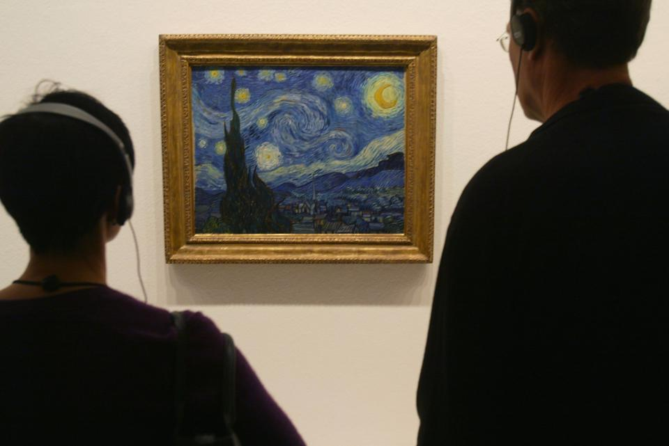Starry Night at MoMA Exhibit In Berlin