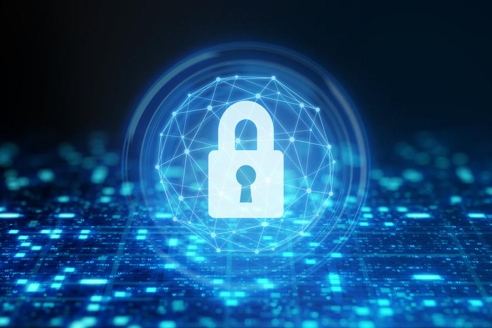 Data protection with padlock