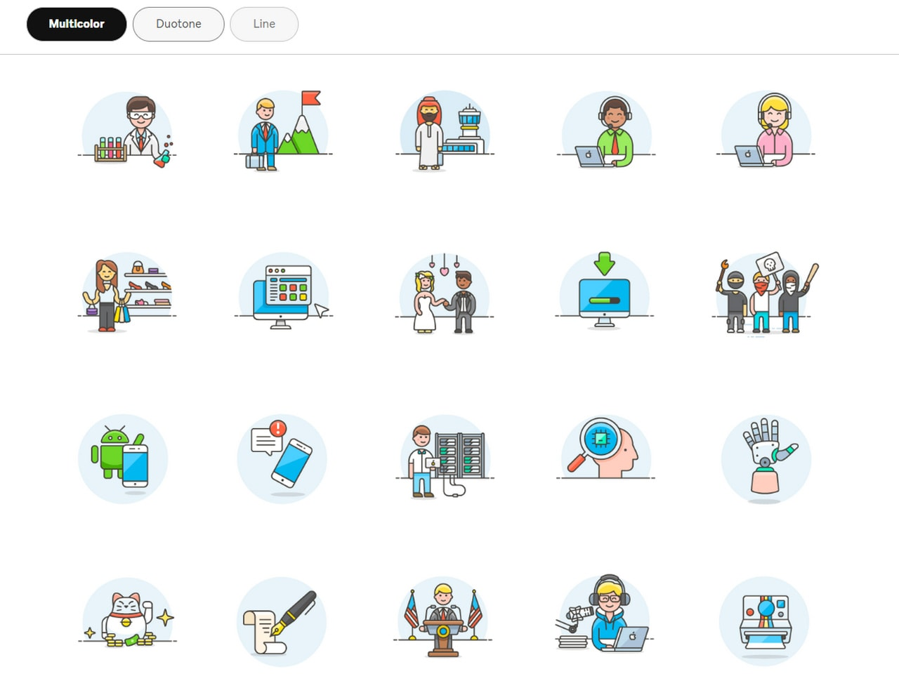 Free Illustrations by Streamline icons