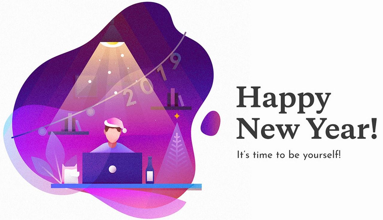 New Year Illustrations Viktoriya Semenova