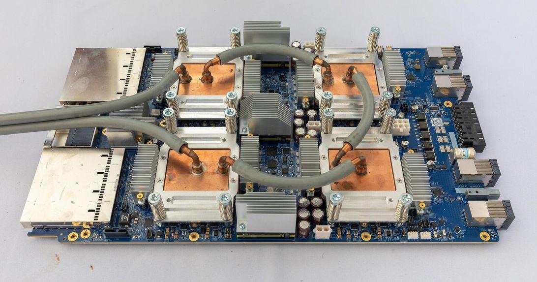 Google TPUv3 processors