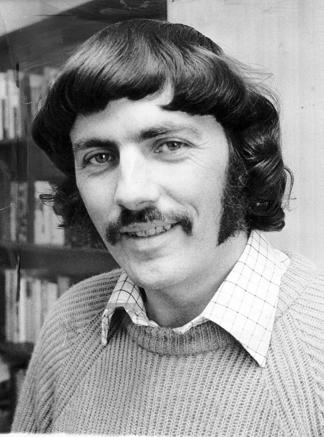 O'Carroll (pictured above as chairman of PIE in the 1970s) was given a two-year jail term for child pornography offences in 2006 and joined the Labour Party in 2015 but was ousted a year later for being a 'safeguarding risk'