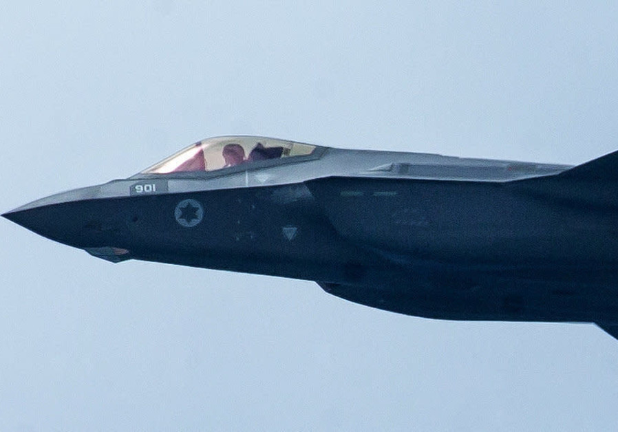 THE IDF F-35 'Adir' fighter plane. Could Chinese quantum radar render such stealth aircraft vulnerable? (Moshe Shai/Flash90)