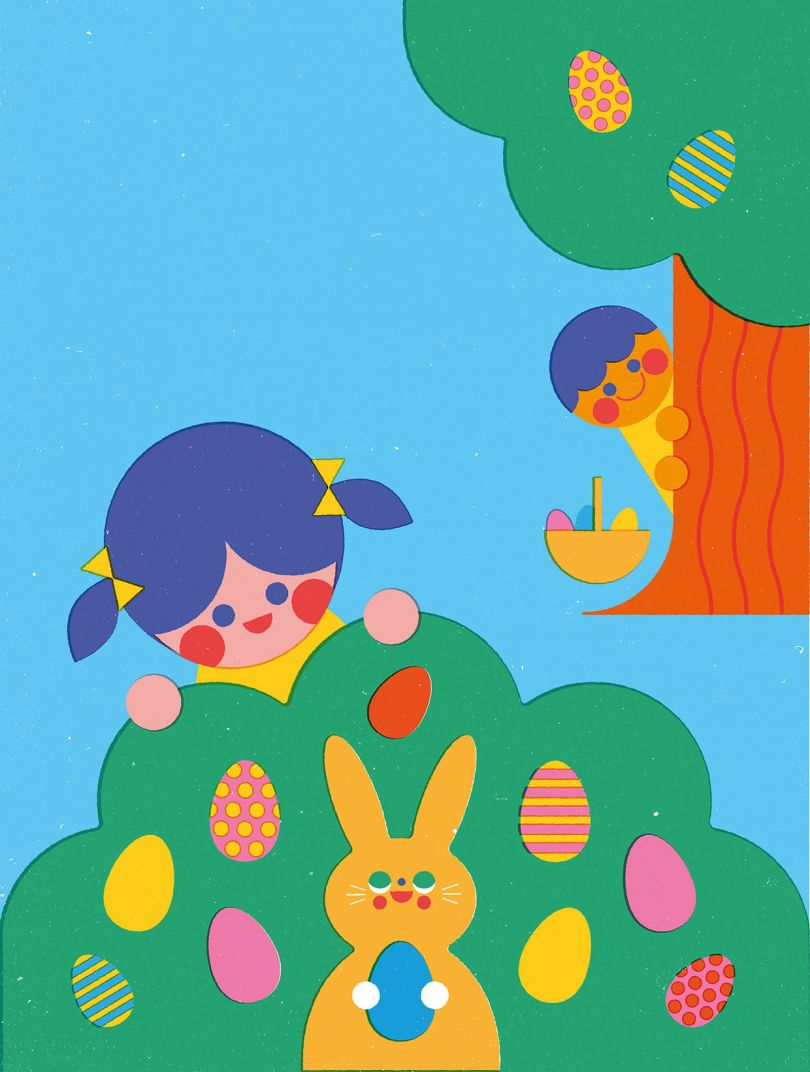 [Anna Dunn](https://www.behance.net/gallery/35867747/Time-Out-Easter-days-out) for Time Out