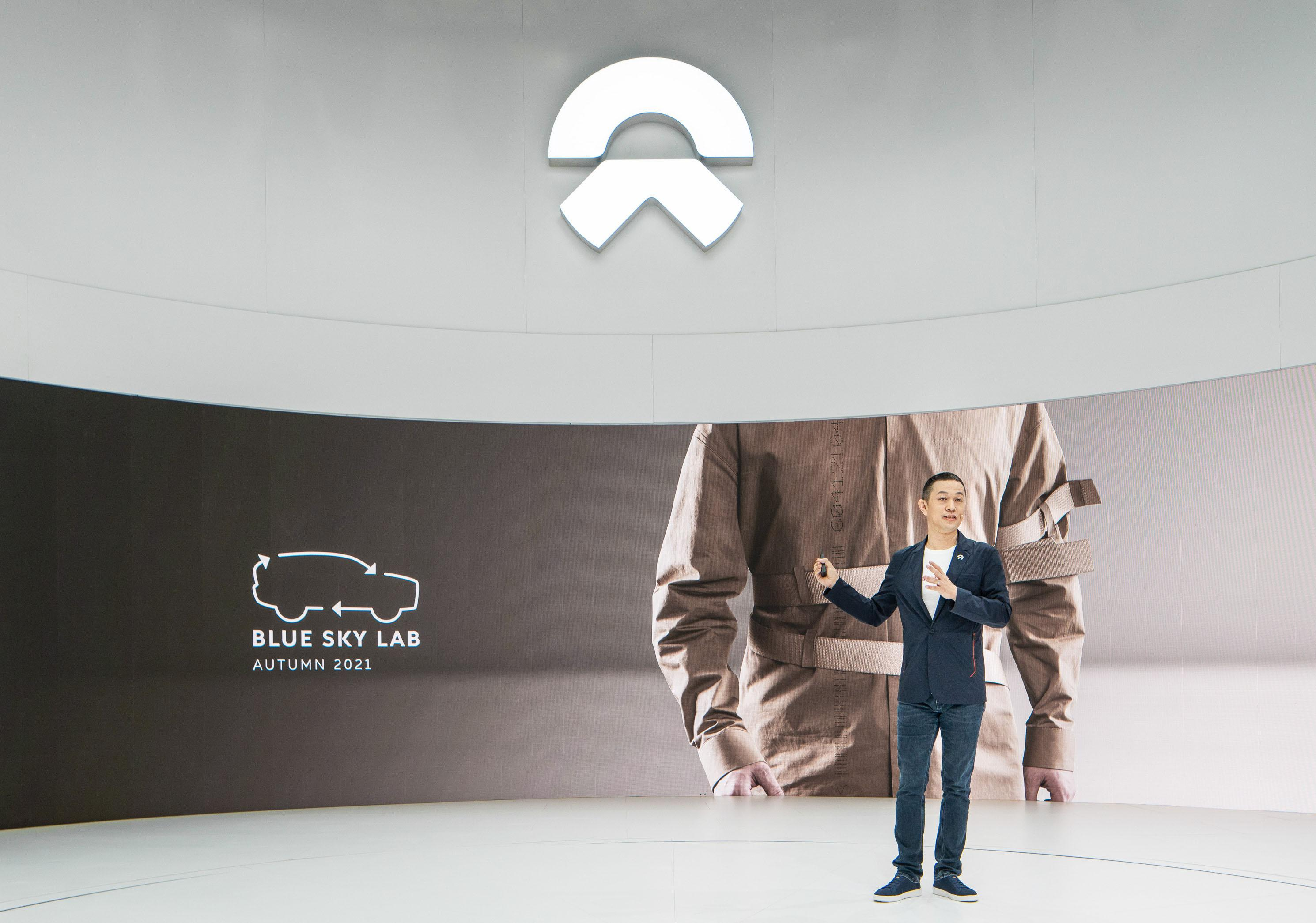 Nio builds brand loyalty with a lifestyle app and Nio-branded goods.