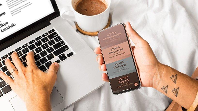 a color companion app for creative people 8