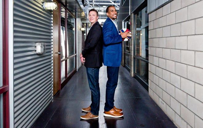 Travis Smith and Julian McClurkin of Tribevest