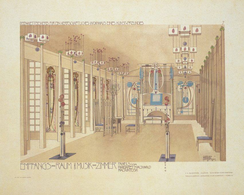 House for an Art Lover by Charles Rennie Mackintosh