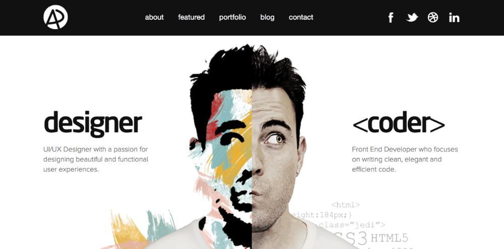 Adam Dannaway's portfolio site